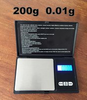Wholesale Precision Digital Weight Scale Grams - High precision portable digital 200g 0.01g gram weighing jewelry gold household scale electronic balance weight