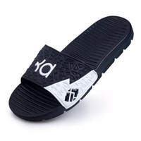 Wholesale Narrow Sandals - 2017 New Fashion Men Casual Kevin Durant Sandals Slippers Flat Slides Mans Footwear Outdoor Shoes Beach EVA Sole Zapatos Hombre
