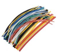 70 pezzi Durable della fiamma 7 colori Assorted Colors Ratio 2: 1 poliolefine Heat Shrink Tubo Tubo Tubo Heatshrink Tubo
