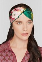 Wholesale Wholesale Ethnic Hair Accessories - 2016 hot!!! Women Elastic Turban Twisted Knotted Headband Ethnic Floral Wide Stretch Hair Band Girl Yoga Hair Accessories