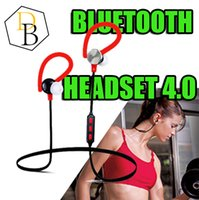 Wholesale Quality Text - for iphone7 Wireless Bluetooth V4.0 Headset Y622 Sport Text And Noise Reduction Stereo Headphone Earphone Best high quality