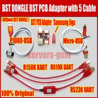 Wholesale Pcb Unlocked - BST dongle BST PCB Adapter for HTC SAMSUNG xiaomi unlock screen S6 S3 S5 9300 9500 lock repair IMEI record date Best Smart too