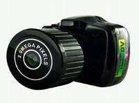 ingrosso videocamere piccole-La fotocamera più piccola al mondo Mini DV Y2000 Videocamera digitale Piccola Mini DV DV Videocamera portatile Registratore per PC WebCam