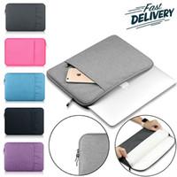 lenovo sleeves venda por atacado-Laptop Sleeve Drop-prova de poeira para 13-15 polegadas Notebook Bag Para iPad Pro Apple ASUS Lenovo Dell, portátil 360 ° de proteção Bolsa de Transporte Bag
