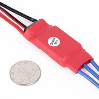 Wholesale Rc Esc Brushless Bec - 30AMP 30A SimonK Brushless ESC Firmware w  3A 5V BEC for RC Quad Multi Copter Quality New Hot!