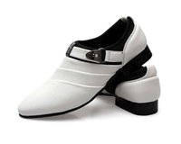 Wholesale Sexy Bridegroom - Cool sexy charming Groom shoes men's wedding shoes leather shoes Prom shoes for bridegroom shoes