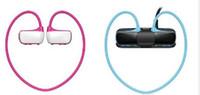 Wholesale free walkman - W273 Sports Mp3 player headset 8GB Wireless Sweat-band Walkman Running earphone Mp3 player headphone water-proof Free Shipping