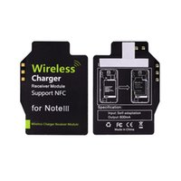 Wholesale Nfc Charging - Hot Sales Qi Standard Wireless Charging Charger Receiver adapter Support NFC for Samsung Galaxy Note III 3 N9000 N9005
