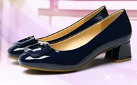 Wholesale British Pumps - EU 35-42 Women Spring Shoes Leather Brogues Pointed Toe Lace Up Woman Shoes British Style Flats Big yards of shoes