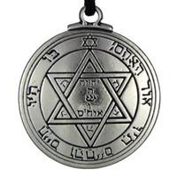 Wholesale mars pendant for sale - Group buy 1pcs Amulet Pentacle of Mars Talisman Key of Solomon Seal Pendant Necklace Hermetic Enochian Kabbalah Pagan Wiccan Jewelry hot sale