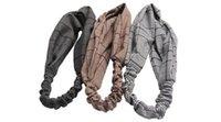 accessoires d'hiver coréen achat en gros de-Bandeau Turban d'hiver Imprimés floraux Bandanas Bandes élastiques coréennes coréennes Cheveux chewing-gum pour filles Accessoires pour cheveux pour femmes
