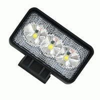 Off luci bianche FLOOD LED 9W CREE AUTO DRIVING FOG LAMPADA TIRA TRATTORE BARCA 4X4 4WD