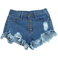 Wholesale Denim Brand Jeans For Women - Fashion Brand Denim Shorts Women Jeans Short Feminino Summer Style Beach Clothes For Women Sport Fitness Short Pant