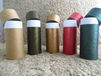Wholesale Stamp Faces - Paper tube with customized size and printing for essential oil packaging