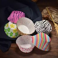 Wholesale Cupcakes Baking Colored - Essentials 200 Pieces Colored Paper Baking Cups Cupcake Muffin and Mini Cake Liners Assorted Cake Wrappers