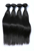 Wholesale low priced bundle hair resale online - Brazilian Indian B Natural Black Color Virgin Straight Human Hair Bundles with Top Quality Low Price