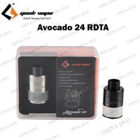 Wholesale fit hinges - Authentic Geekvape Avocado 24 Vaporizer RDTA 5ml Subtank Atomizer Velocity Deck with Hinge Lock fill System Available fit Single Dual Coils