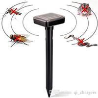 Wholesale Garden Rodents - Outdoor Solar Pest Repeller Mouse Rodent Pest Repellent Sonic Mole Garden Wave Repeller