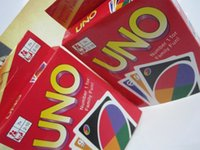 Wholesale Playing Cards Puzzle - UNO Playing Poker Cards Table Game Standard Edition 270g Family Fun Entermainment Board Game Kids Funny Puzzle Game