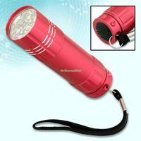 Wholesale Torch Hid Flashlight Mini - EB0144 9 LED Bulb Bright Mini Flashlight Torch Lamp Light New