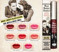 Wholesale High Quality E Liquids - lowest price  High quality New Arrivals HOT makeup Meet Matt(e) Hughes long lasting liquid lipstick lipgloss 7.4ml