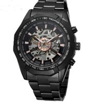 Wholesale Noble Steel - Top fashion luxury Tungsten steel strap Alloy frame Fully automatic Man watch High-end gifts Noble quality watch