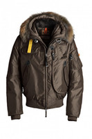 Wholesale Gobi Man - DHL Free Shipping 2017 New Arrival sale Parajumpers men's down parka Gobi Black Navy Gray Jacket Winter Coat Parka Fur sale With Online