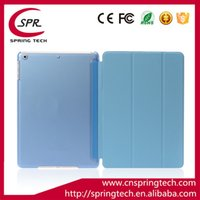 Fold Magnetic Smart Cover Matte Back Case para 9.7 '' iPad 5 6 7 Table PC Folding Case