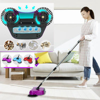 Wholesale Floor Washing Machines - Magic Broom Hand Push Sweeper Sweeping Machine Without Electricity Vacuum Cleaner Floor Home Cleaning Dustpan Set Broom Mop 3 in1 SF74