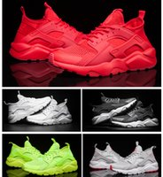 Wholesale 2017 New Air Huarache II running shoes Huraches Running trainers man woman outdoors shoes Huaraches sneakers Hurache Size US