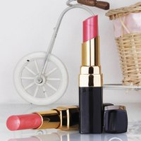 Wholesale Different Coloured Lipsticks - New Makeup Lipstick ROUGE LIP COLOUR Hydrating lipstick CREME 12 different colors!! Free Shipping
