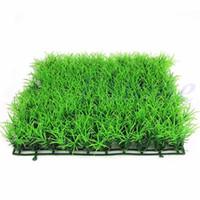 ingrosso erba del terreno paesaggio-Decorazioni da giardino Simulazione di prato in plastica erba falso erba simulazione di paesaggio all'aperto simulazione di piante in plastica morbida erba tappeto erboso Decora