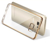 Wholesale Gild Phone - For Samsung S7 Edge Plating Gilded TPU Phone Case For Samsung Galaxy S7 S7 edge note5 soft Back Case Cover