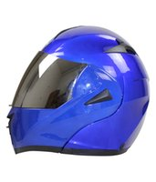 Wholesale Dot Racing Helmets - Motorcycle Helmet Best 7 Color DOT Dual Visor Flip Up Motorcycle Helmet Racing Motocross Full Face Motorcycle Half Helmet Motorcycle Helmet