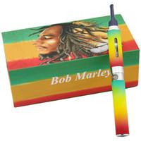 bob marley vaporizer toptan satış-Bob marley buharlaştırıcı kiti ot tankı atomizer için kuru ot buharlaştırıcı vape kalem e-çiğ vape kalem