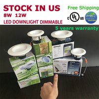 Led Energy Star for sale - Top quality led downlight Dimmable 8W 12W Led light 4'' 5'' 6'' UL cUL Energy-star from top supplier