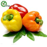 ingrosso organic fruit-MIX Seme di semi di peperone dolce Bonsai semi di frutta e verdura biologica 100 pezzi S016