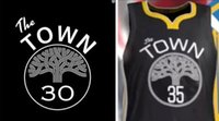 Wholesale Clothing Stops - 2018 new best shirts 35 The Town basketball jerseys Kevin Durant Customize name number State clothes 100% Golden Stitched Free Shipping