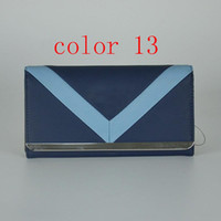 Wholesale Wallet Style Folder - fashion women PU leather brand wallet long folder purse European style new arrival colors5-13