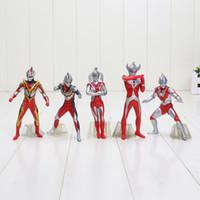 "Wholesale Ultraman Figures - 5pcs Cool 4.8"" Ultraman Ultrawoman Set The 8th Generation PVC Action Figure Collection Model Toy (5pcs per set)"