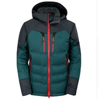 Wholesale Hooded Outwear For Men - Winter Jacket brand Men 2016 New Spring Men's white duck down Jacket Coats Casual Thick Outwear For Men Plus size Male 3XL
