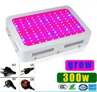 Wholesale Grow Panel 3w - High Cost-effective 5 unit 300W LED Grow Light 100pcs * 3W 100 LEDs garden downlight Hydroponic LED Grow Lamp lights Panel lighting