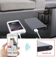 Wholesale Battery Powered Dvr - Mini camera I6 p2p Night Vision HD 1080P WIFI mobile Power Bank External Battery wireless IP Spy Hidden Cameras DVR Video Motion detect
