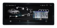 Wholesale dvd screen audi - 10.25 inch 1280*480 Android 4.4.4 Car stereo CAR DVD player GPS Navigation mltimedia for AUDI A4L 2015 2016 2017 2018