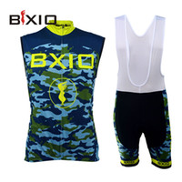 299c8b2a8 2016 Bxio Brand Cycling Jersey Sleeveless Camouflage Pattern Cycling  Clothing New Arrival Summer Mountain Bikes clothes Number BX-0309MC052