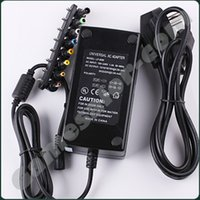 Wholesale Ac 15v - 110-220v AC To DC 12V 15V 16V 18V 19V 20V 24V Laptop Charger Adapter 96W Universal Laptop PC Netbook Power Supply Charger