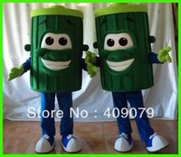 Wholesale Garbage Costume - Wholesale-sm520 adult garbage can mascot costume