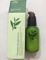 Wholesale Green Bottle Lotion - INNISFREE Green Bottle Cream GreenTea Seed Face Cream Moisturizing Face Care Lotion 80ML New Face Skin Care