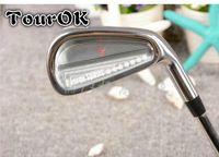 Wholesale Set Mens Steel - Wholesale- TourOK mens Golf Clubs Golf irons set 4-9. irons clubs with steel Golf shaft