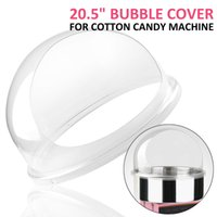 """Wholesale Hot Cover 12v - Hot sale Free shipping 110 220v FLOSS COTTON CANDY COVER Commercial 20.5"""" 52cm Floss Bubble Maker Cotton Candy Machine Cover"""